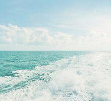 White Water on Ocean by visualspectrum