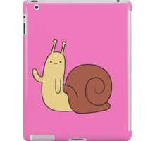 the hidden snail strikes again iPad Case/Skin