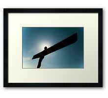 The Angel of the North Framed Print