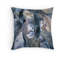 Rock patterns, Purnululu National Park Throw Pillow