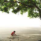 the beach artist #2 by wellman