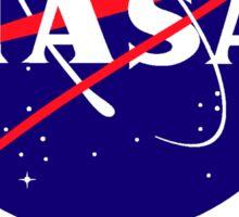 NASA & JPL Together Sticker