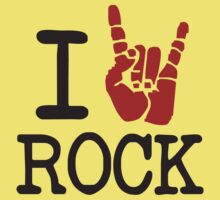 I love rock by monkeybrain