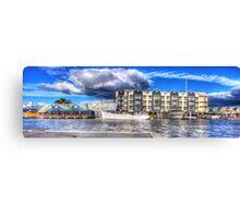 Seaport Panorama Canvas Print