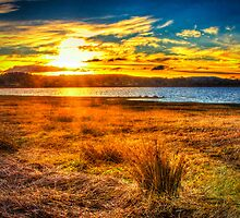 Swan Bay Sunset by Marcus Salter