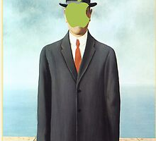 Magritte_apple by ujin2010
