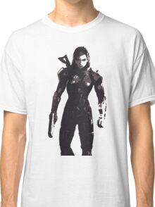 Minimalist Female Shepard from Mass Effect Classic T-Shirt