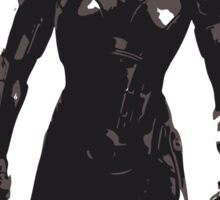 Minimalist Female Shepard from Mass Effect Sticker