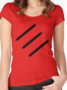 FFXIV Monk Job Class Icon Women's Fitted Scoop T-Shirt