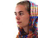 Russian Lady Painter by branko stanic