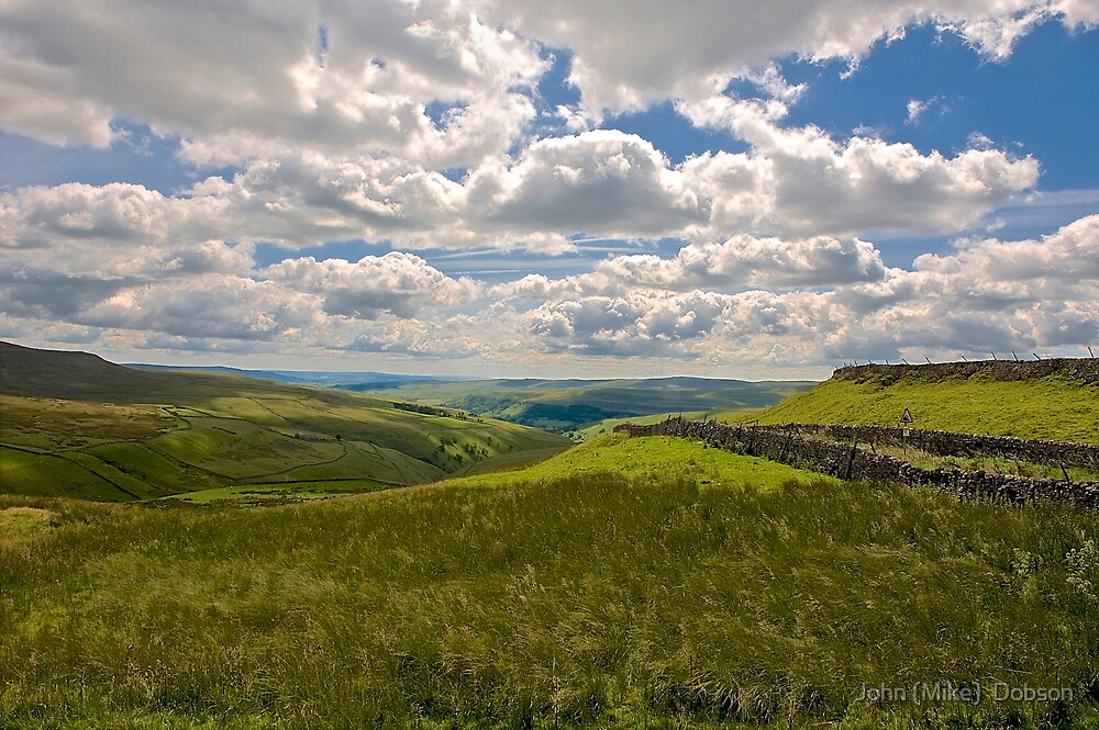 The Yorkshire Dales by John (Mike)  Dobson