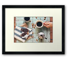 Coffee For Two Framed Print