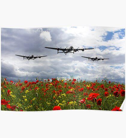 Lancaster Remembrance Poster