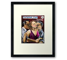 Libertine Twisted Pulp Edition #122 Framed Print