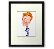 Conan O'Brien - No Strings Attached Framed Print