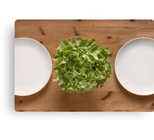 Lettuce For Lunch Canvas Print