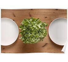 Lettuce For Lunch Poster