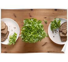 Bread And Lettuce Poster