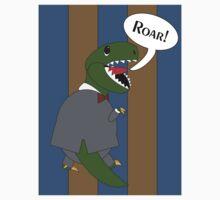 Male T-Rex Dinosaur in Suit Kids Clothes