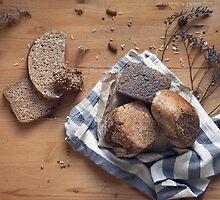 Brown Bread Still Life by visualspectrum