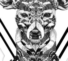 15th Lane Inspired Abstract Deer T-Shirt Sticker