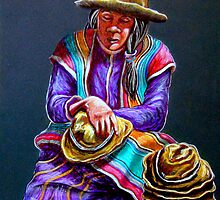 """Hats For Sale"" by Susan Bergstrom"