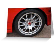 2001 Ferrari F1 360 Spider IV Greeting Card