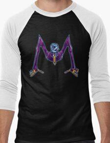 M is for Mummified Slender Man Men's Baseball ¾ T-Shirt