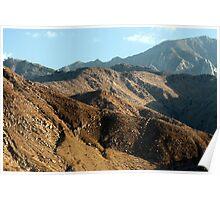 San Jacinto Mountains Poster