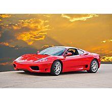 2001 Ferrari F1 360 Spider I  Photographic Print