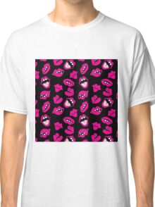 LIPS AND WHAT! (BLACK) Classic T-Shirt
