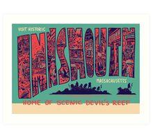 Visit Historic Innsmouth Art Print