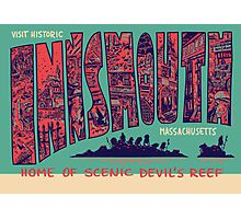 Visit Historic Innsmouth Photographic Print