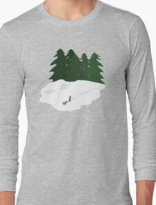 December scene Long Sleeve T-Shirt