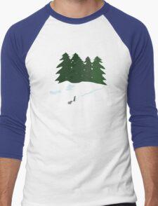 December scene Men's Baseball ¾ T-Shirt