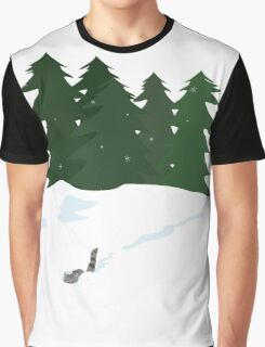 December scene Graphic T-Shirt