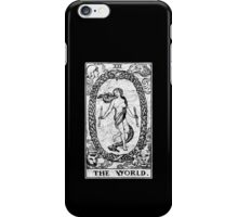 The World Tarot Card - Major Arcana - fortune telling - occult iPhone Case/Skin