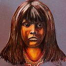 Lakota Child by Susan Bergstrom
