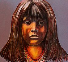 Lakota Child by Susan Bergstrom