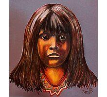 Lakota Child Photographic Print