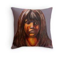 Lakota Child Throw Pillow