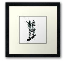 Bobaboard Framed Print