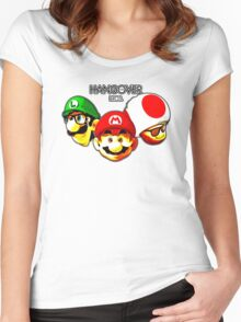 The Hangover Bros. Women's Fitted Scoop T-Shirt