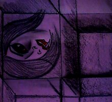 horror picture in cube by manisha choudhary