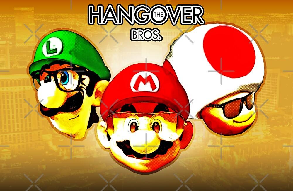 The Hangover Bros. (Print Version) by Rodrigo Marckezini