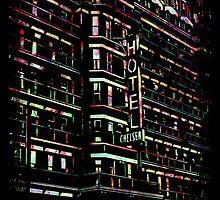 Hotel Chelsea New York City by icoNYC