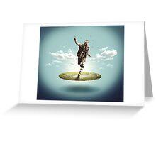 Yohan Cabaye statue Greeting Card