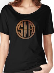 Cool Ska Rusty Ring Women's Relaxed Fit T-Shirt