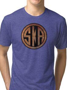 Cool Ska Rusty Ring Tri-blend T-Shirt
