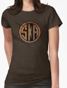 Cool Ska Rusty Ring Womens Fitted T-Shirt